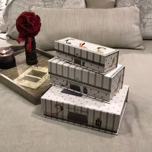 🥂Set Of 3 Vanity Boxes🥂
